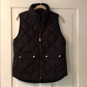 J-crew quilted vest